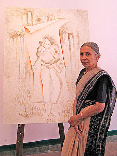 Veerbala-with--Painting
