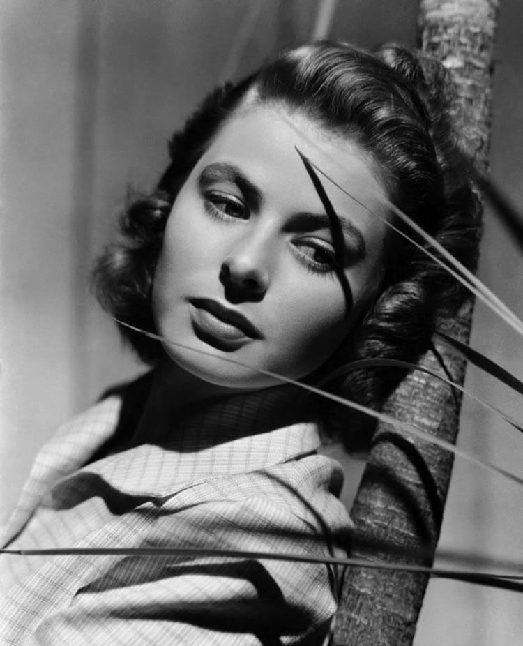 Ingrid-Bergman-Short-1940s-Hairstyle