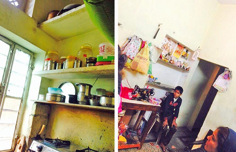 New Year Gift Arch Interior Design Students Renovate Home Of One Poor Female Tailor Indian