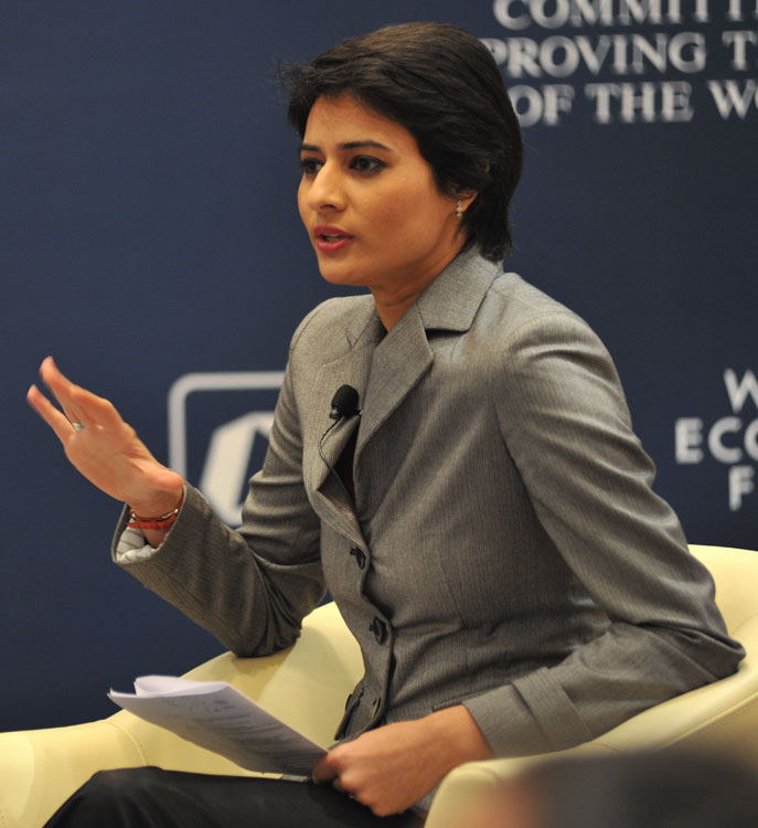 Shaili_Chopra-WEF-India_Economic_Summit_2010