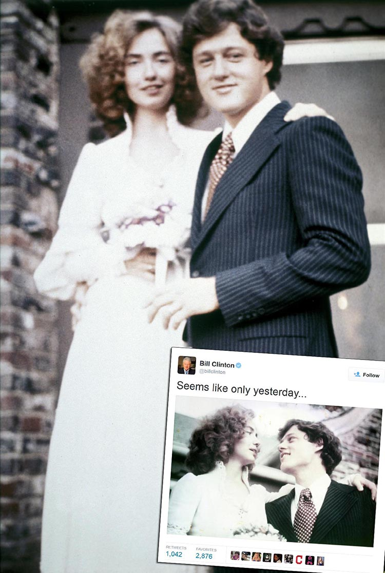 Bill Clinton's Proud Tears & More Rare Pictures Of The